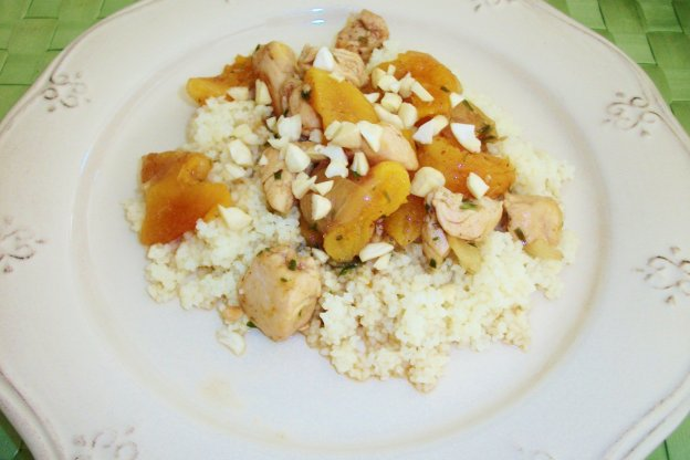 Chicken Stew With Apricots And Almonds