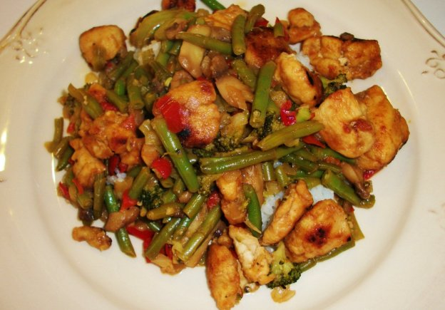 DINNER-PAL Gingery Chicken Stir-Fry